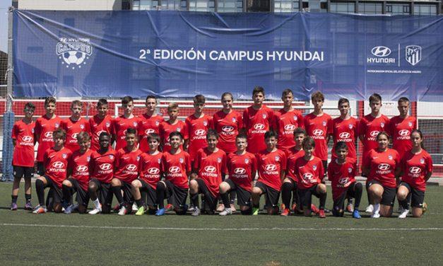 Campus Hyundai con el Atlético de Madrid