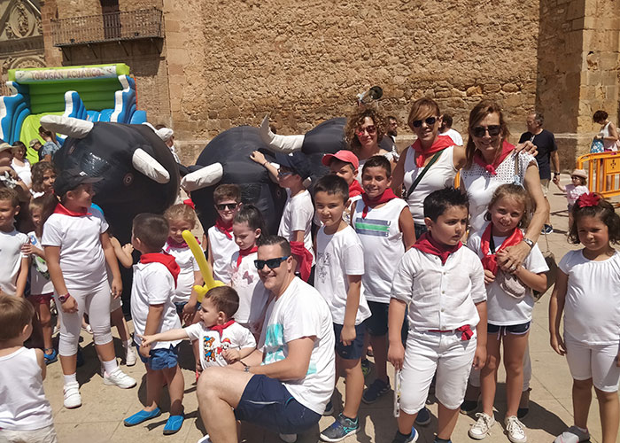 La Feria y Fiestas 2019 hace disfrutar de lo lindo a los niños y niñas de la localidad