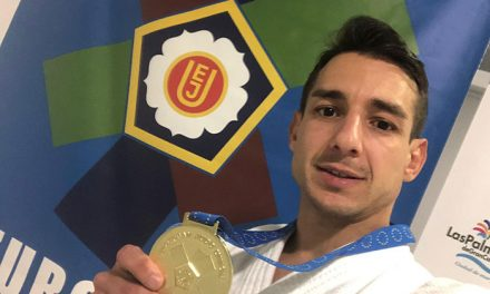 Jorge Galán, una vez más campeón de Europa máster de judo