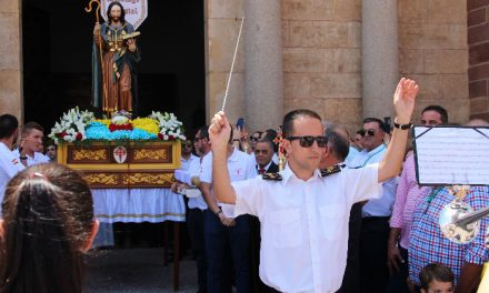 'Santiago', la nueva marcha se estrenó el día grande de la feria