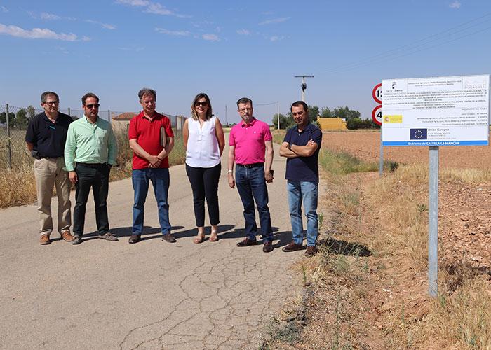 Finalizadas las obras de mejora y acondicionamiento de 32 kilómetros de caminos rurales