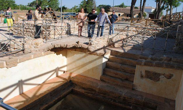 Valdepeñas hace visitable el vaso de la antigua Casa del cura Rabadán en el paraje El Peral