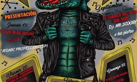 El Ayuntamiento de Jaén colabora con el Festival Alligator Rockin que invita a los amantes del rock and roll a disfrutar de cuatro días de conciertos y propuestas paralelas