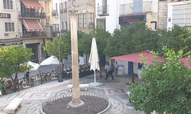 El Ayuntamiento colabora para delimitar mediante georradar los refugios antiaéreos que se construyeron en la Guerra Civil en cuatro plazas del centro de Jaén