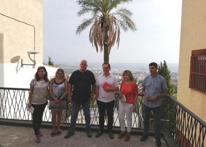 El Ayuntamiento de Jaén atiende las peticiones de los vecinos de San Vicente de Paúl y Antonio Díaz para emprender actuaciones que mejoren dichas zonas