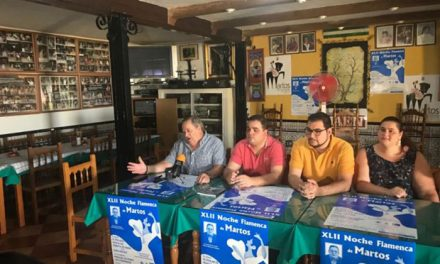 El alcalde apuesta por seguir trabajando e incentivando el flamenco en la ciudad
