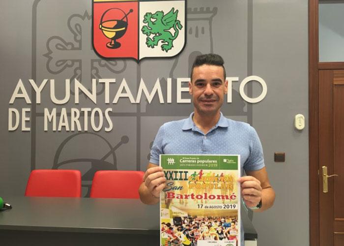 El Ayuntamiento de Martos anima a la participación en la XXIII Carrera Popular San Bartolomé