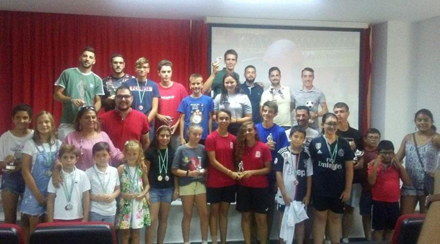 Más de 400 deportistas participan en los Torneos de Verano de Martos