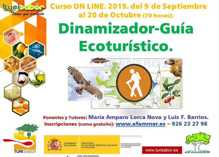 AFAMMER abre el plazo de inscripción para apuntarse al curso online de Dinamizador-Guía Ecoturístico