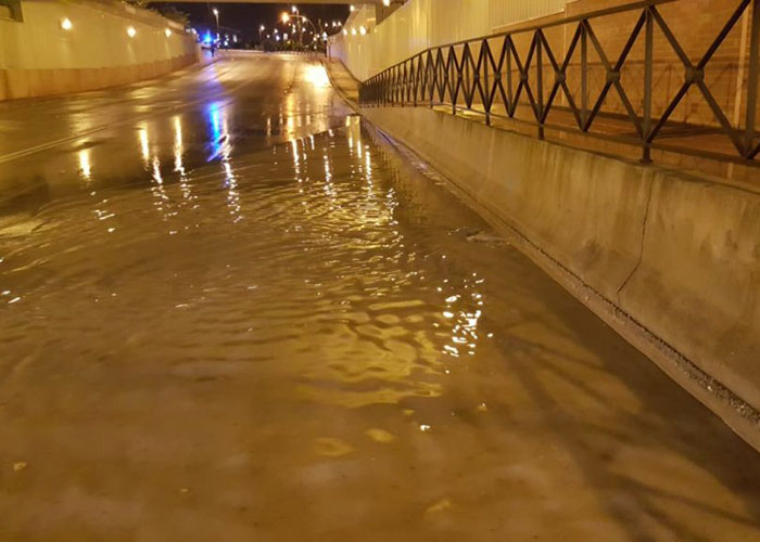 Getafe registró una treintena de intervenciones por las tormentas en la tarde y noche de ayer