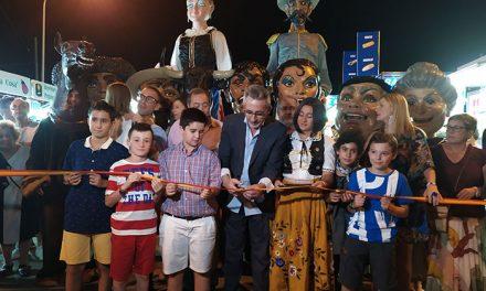 Jesús Martín anima a todos a volver a la infancia en la inauguración de la Feria de Agosto de Valdepeñas