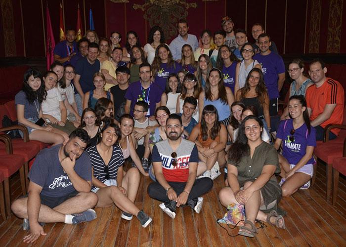 El Ayuntamiento recibe a los 40 jóvenes que este año integran los campos de trabajo voluntario gestionados por 'Anímate' en Toledo