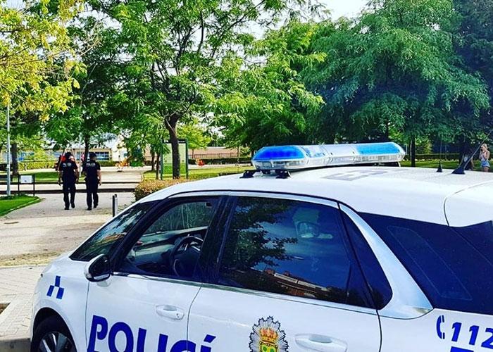 La Policía Local de Boadilla aumenta en verano sus labores de control en los parques
