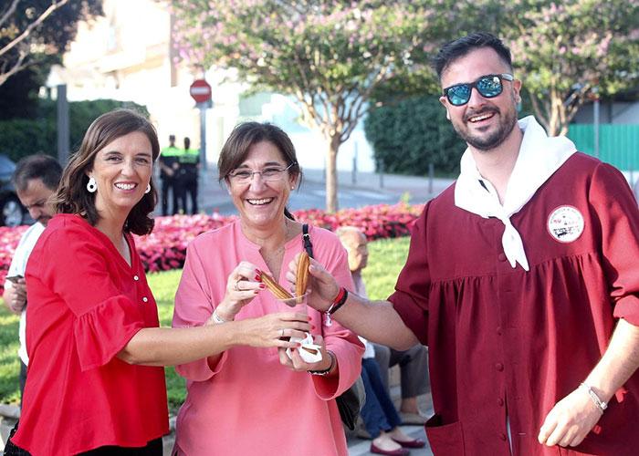 Los primeros encierros centraron la programación festiva del lunes en Pozuelo de Alarcón
