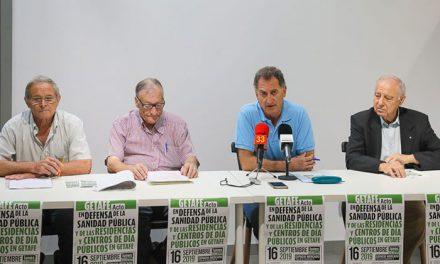 La Plataforma de Mayores de Getafe inicia movilizaciones en defensa de la Sanidad Pública y la construcción de residencias públicas y un centro de día