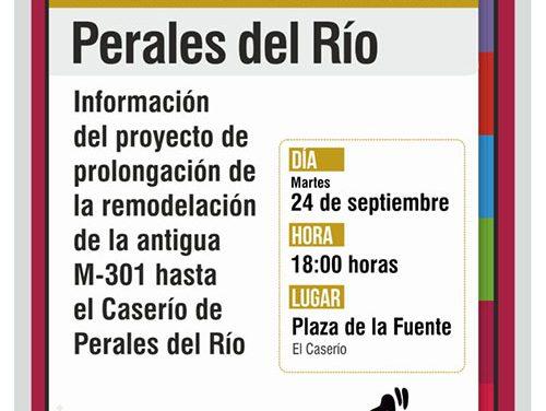 Asamblea vecinal en El Caserío sobre la prolongación de la remodelación de la antigua M-301