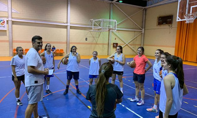 Tercera temporada para el Club Baloncesto OyE Ciudad Real