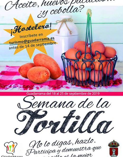 Guadarrama Gastronómica propone un recorrido para disfrutar del sabor de la tortilla de patatas