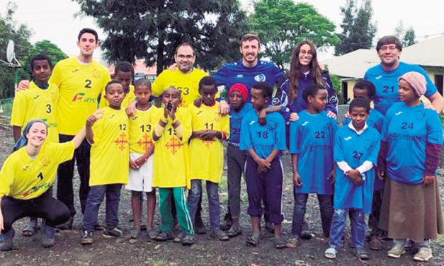 Balonmano Caserío en Etiopía