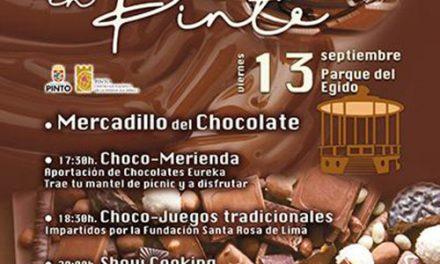 Pinto conmemora el Día Internacional del Chocolate con una chocomerienda lúdica