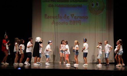 240 niños han podido disfrutar de la escuela de verano en julio y agosto
