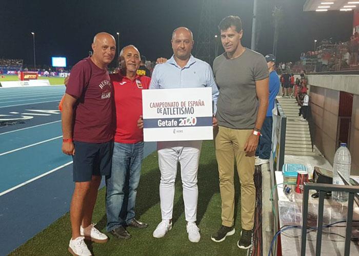 Getafe será la sede del Campeonato de España de Atletismo 2020