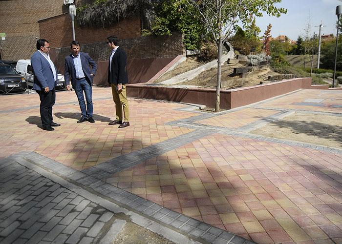El Ayuntamiento de Boadilla acondiciona la zona de Las Eras donde se soterró el centro de transformación