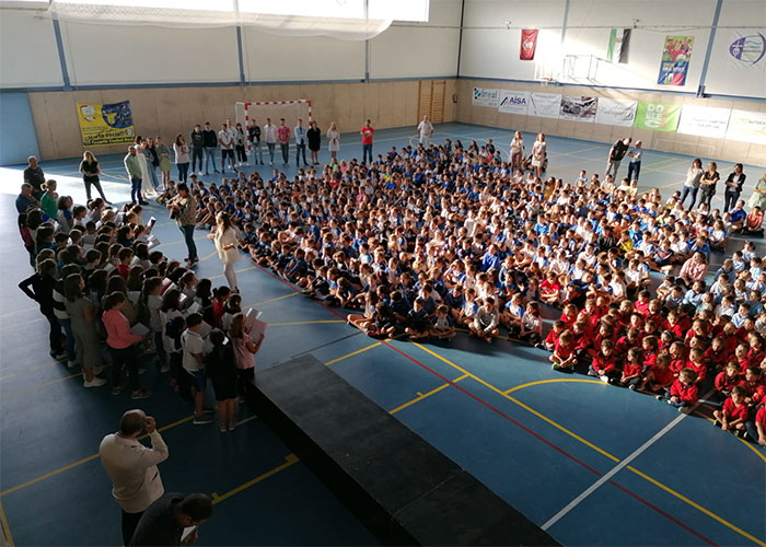 El colegio Marianista Nuestra Señora del Prado se une a la campaña ¡Para! por el Planeta