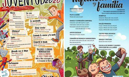 Collado Villalba ofrece a sus niños y jóvenes más de 50 talleres y 400 plazas para este otoño