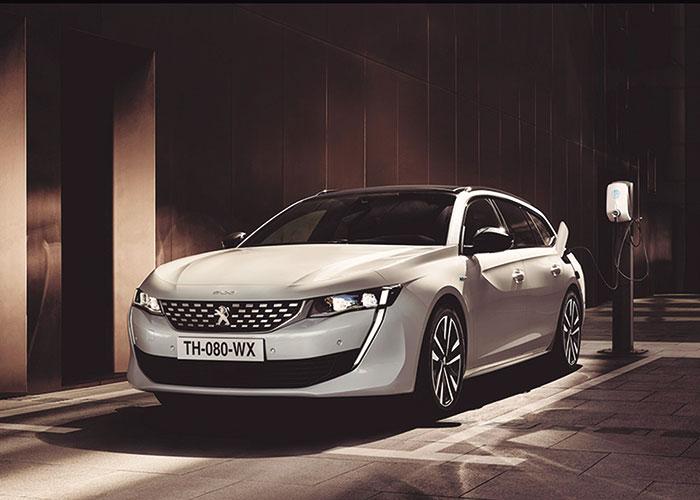 Nuevo Peugeot 508 SW Hybrid, impactante