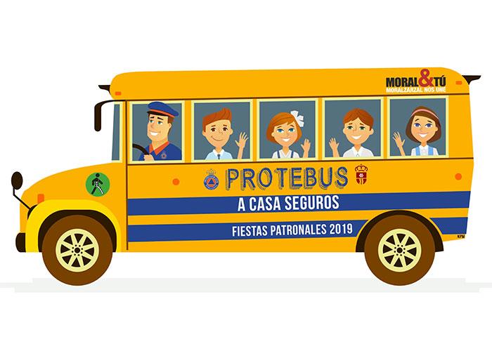 Durante las Fiestas de Moralzarzal, Protección Civil acompañará por la noche a los menores a casa