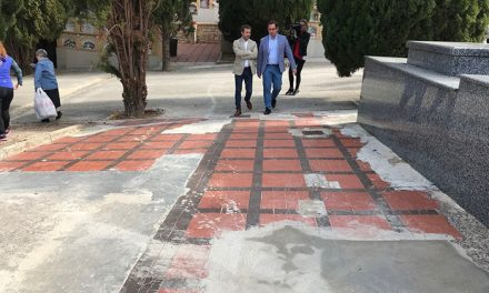 El Ayuntamiento interviene en el Cementerio de San Fernando para mejorar solería y zonas verdes y trabaja en dos proyectos para dotar de más nichos las instalaciones