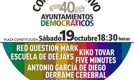 Un concierto y una exposición para conmemorar los '40 años de Ayuntamientos democráticos'