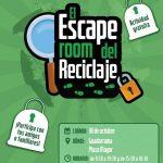 """""""El Escape Room del Reciclaje"""" llega a Guadarrama mañana viernes 18 de octubre"""