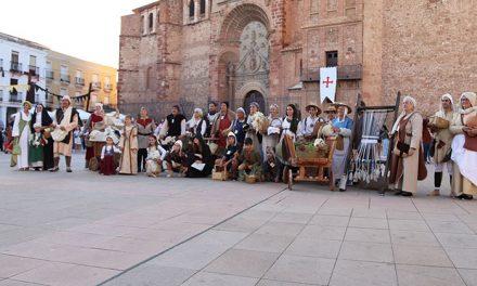 Variado y vistoso concurso de indumentaria medieval