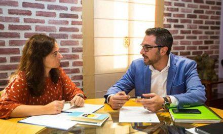 El Alcalde de Pinto se reúne con la presidenta de la Mancomunidad del Sur