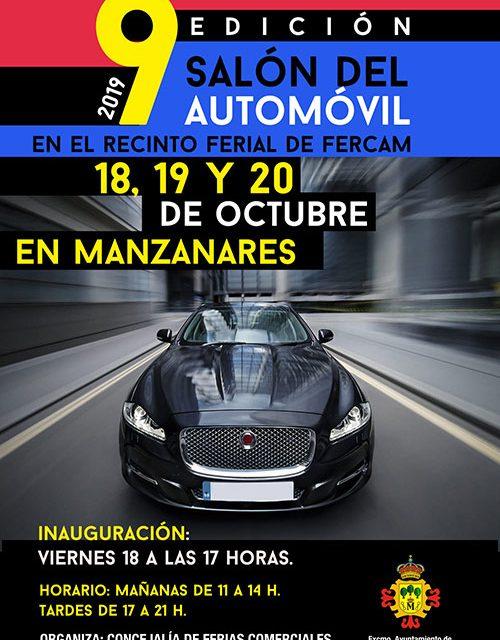 Manzanares presenta el 9º Salón del Automóvil