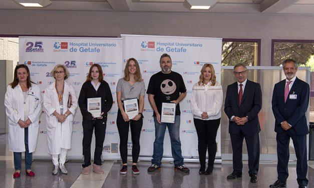 El Hospital de Getafe entrega los premios del I Concurso de Pintura Rápida para usuarios y profesionales