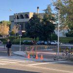El Ayuntamiento de Toledo inicia las obras de instalación de semáforos para regular dos pasos de peatones en la calle Río Alberche