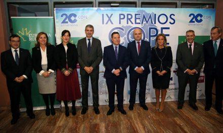 Milagros Tolón felicita a los galardonados en los IX Premios COPE Castilla-La Mancha porque son un estímulo para toda la sociedad
