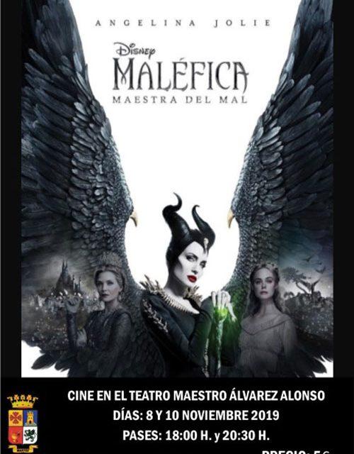 'Maléfica: Maestra del Mal', se proyecta en el Teatro este fin de semana