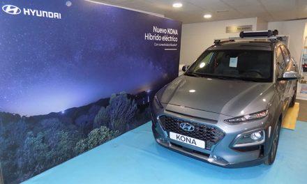 Hijos de Dionisio Grande presentó en sus instalaciones el nuevo Hyundai Kona HEV