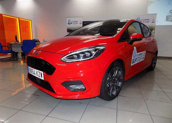 El Ford Fiesta GLP Tour hizo parada en Serramotor Ford Ciudad Real