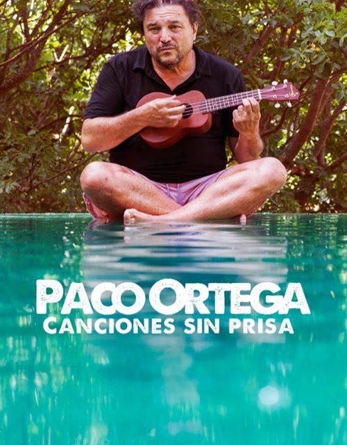 Paco Ortega presentará su nuevo disco en el Teatro Federico García Lorca