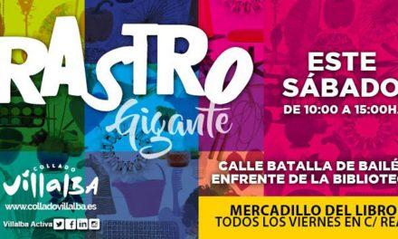Rastro Gigante de la Sierra, este sábado en la calle Batalla de Bailén