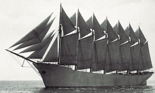 El mayor barco de vela jamás construido