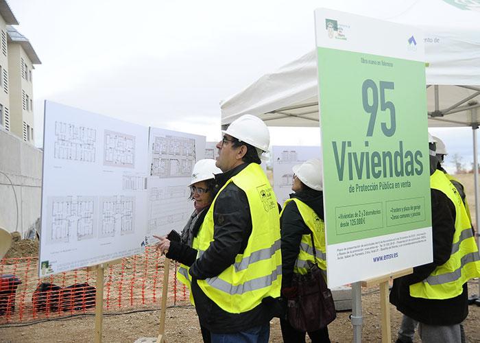 En marcha la construcción de 95 nuevas viviendas de protección pública
