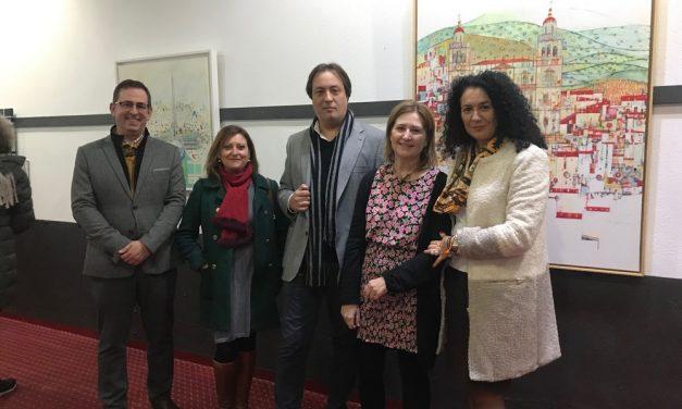 La sala de exposiciones del Edificio Moneo acoge la obra de la artista jiennense Tusti de Toro 'La vida secreta del color'