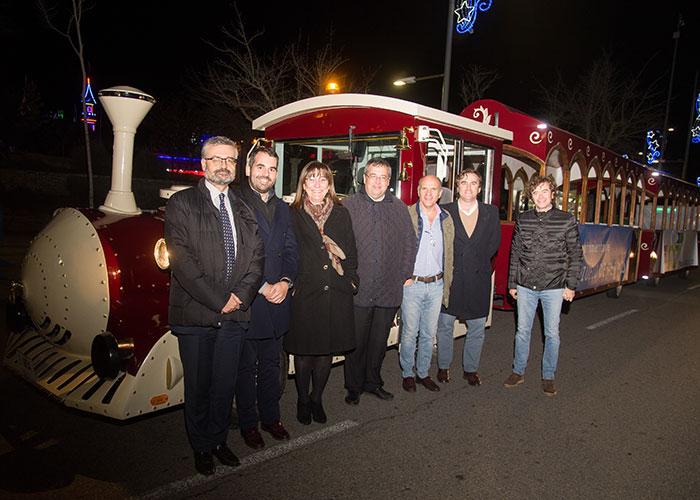 Comienza a circular el Tren de la Navidad que recorrerá las calles de Pozuelo hasta el próximo 4 de enero