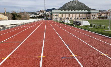 La primera fase de las obras de las pistas de atletismo se encuentra al 98 por ciento de ejecución